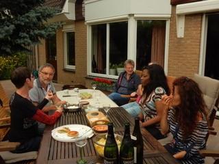 Barbecue chez Françoise à Almere